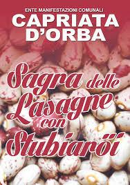 XV Sagra delle Lasagne con Stubiaroi
